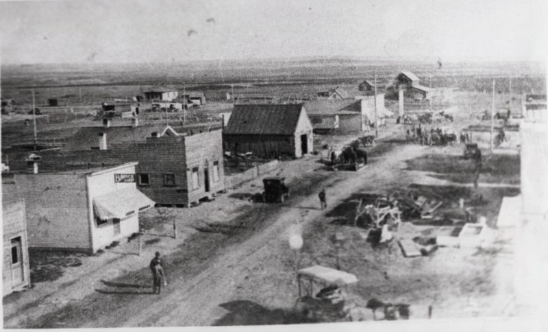 Newdale about 1913 or 1914